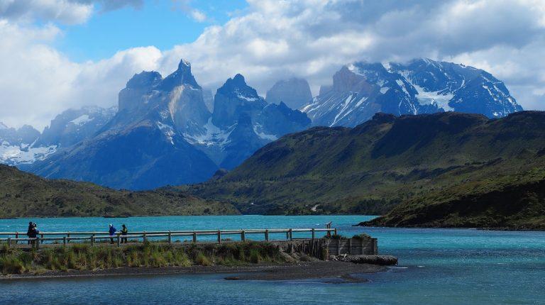 チリのパタゴニア パイネ国立公園で撮影