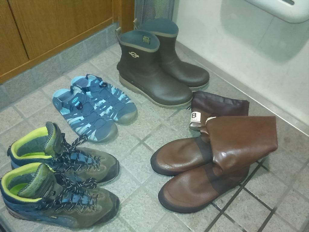 野鳥の会Bマーク長靴は、便利で、コスパよく、バリエーション豊富
