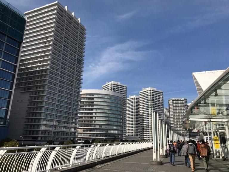 みなとみらい パシフィコ横浜からの景色