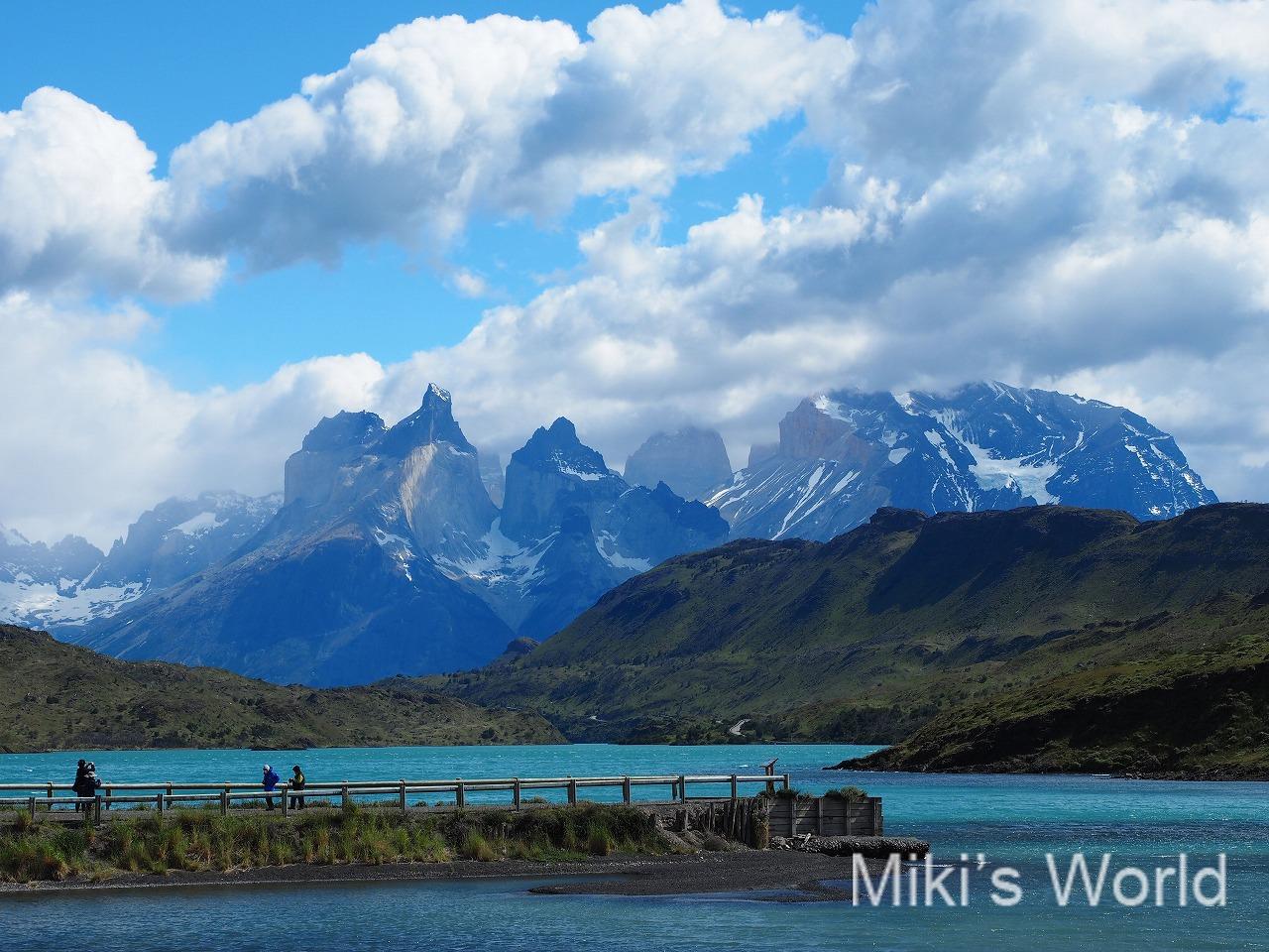 山が美しいパタゴニア 南米チリ、アルゼンチンの南部エリアの総称