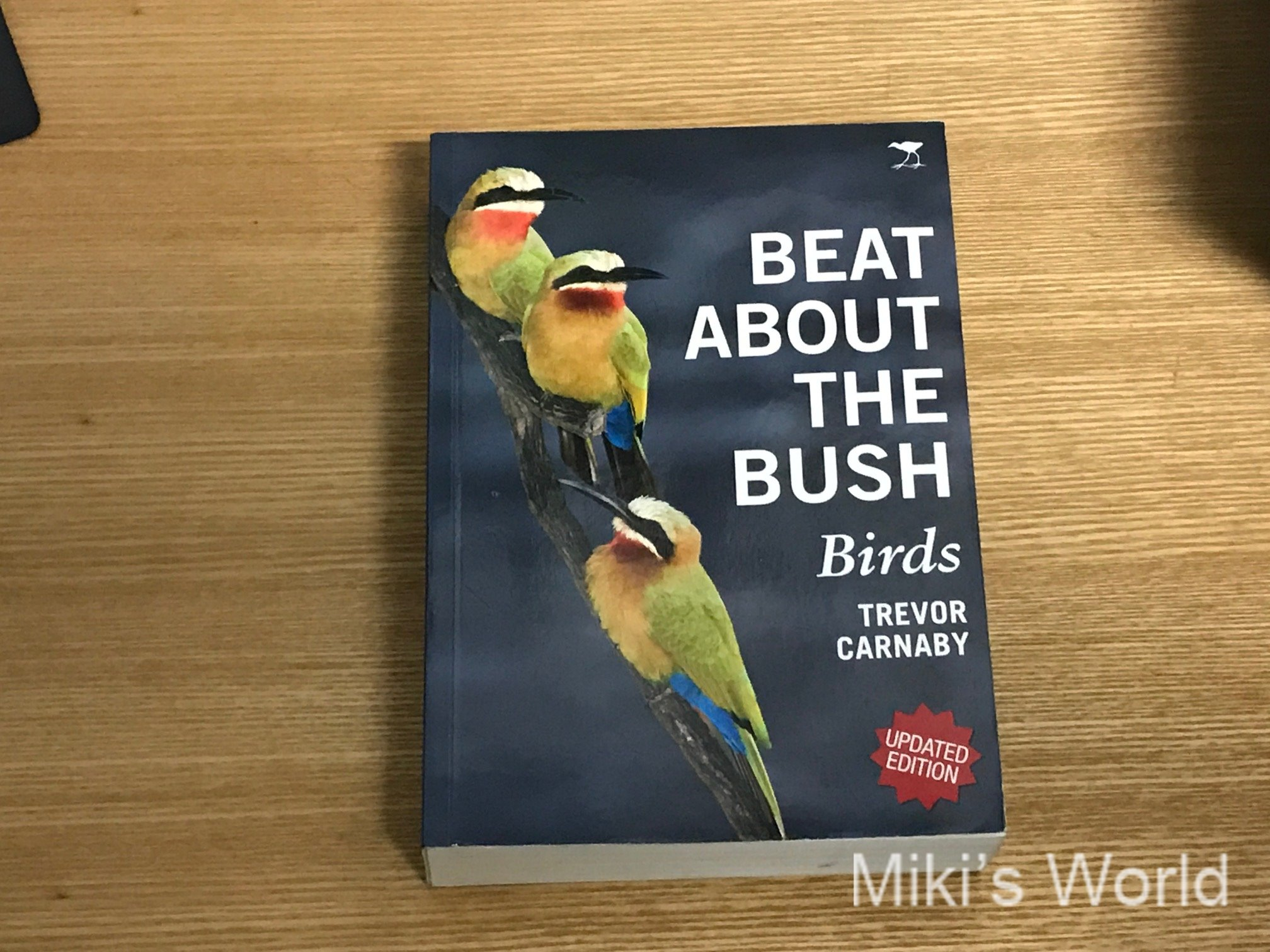 BEAT ABOUT THE BUSH Birds TREVOR CARBABY著 鳥の超おもしろ本