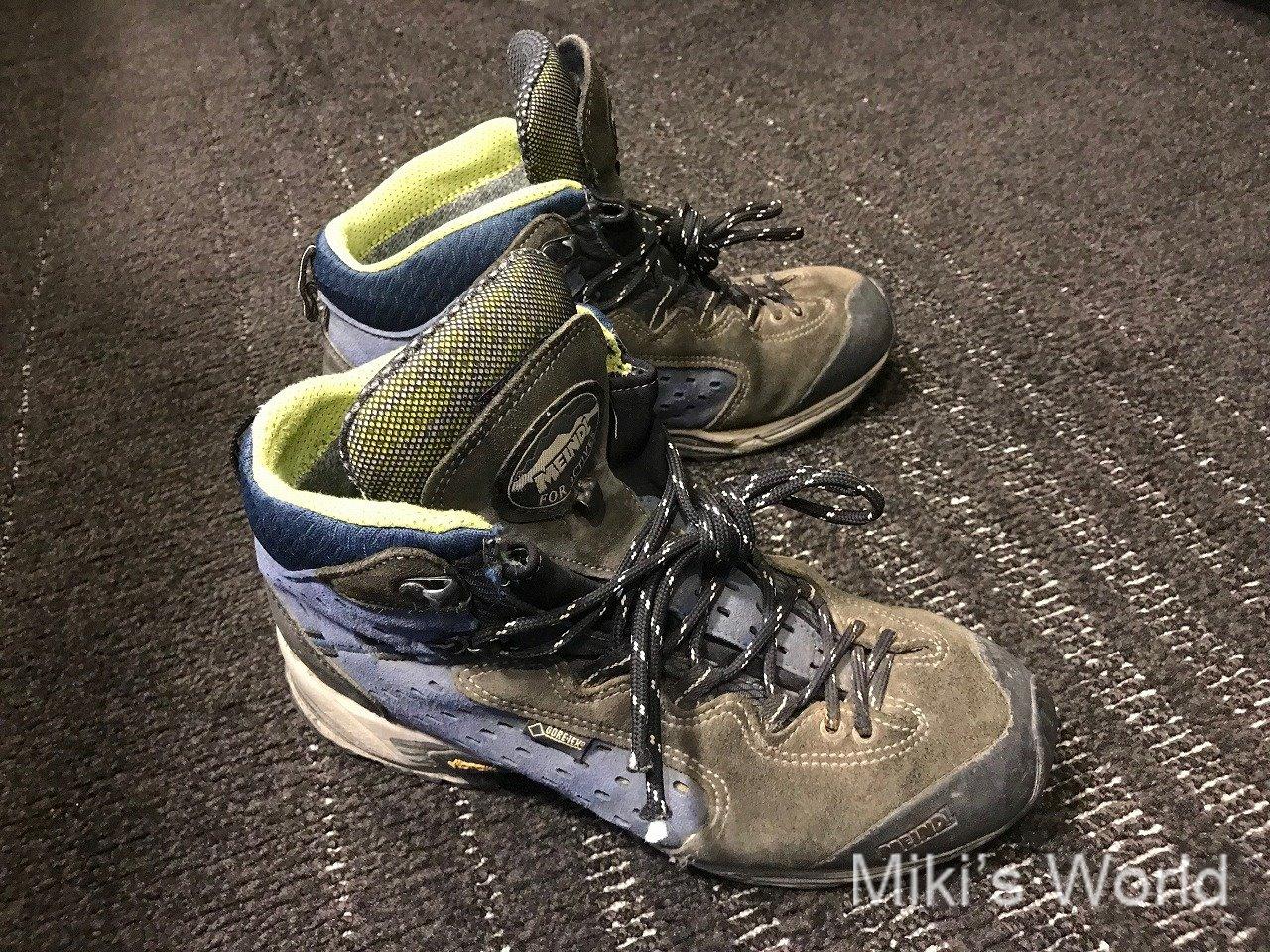 自然の旅に必須なもの 登山靴編 経験者も要注意 失敗して気づくとツライ