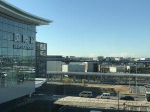 羽田空港国際線ターミナルからおはようございます!  深夜便利用で、羽田空港に私が宿泊した理由