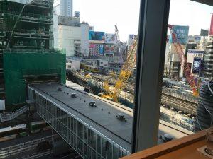渋谷ヒカリエ  然花抄院  友人と話してかなりスッキリした今日の午後