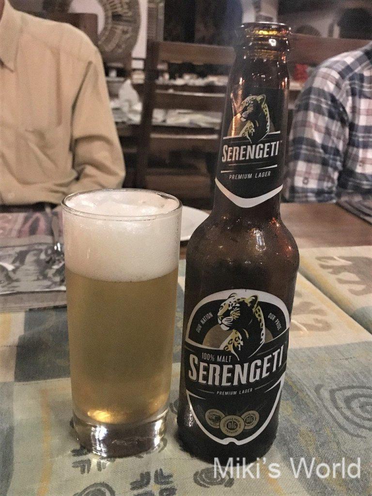 タンザニアで飲めるビール セレンゲティ SERENGETI