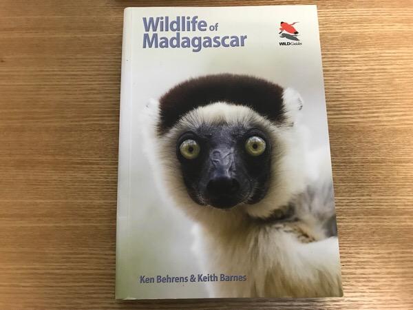 マダガスカルのおすすめの図鑑 一冊で網羅 Wildlife of Madagascar