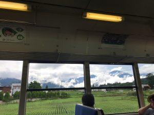 各駅停車の旅  高尾→甲府→松本→信濃大町→白馬