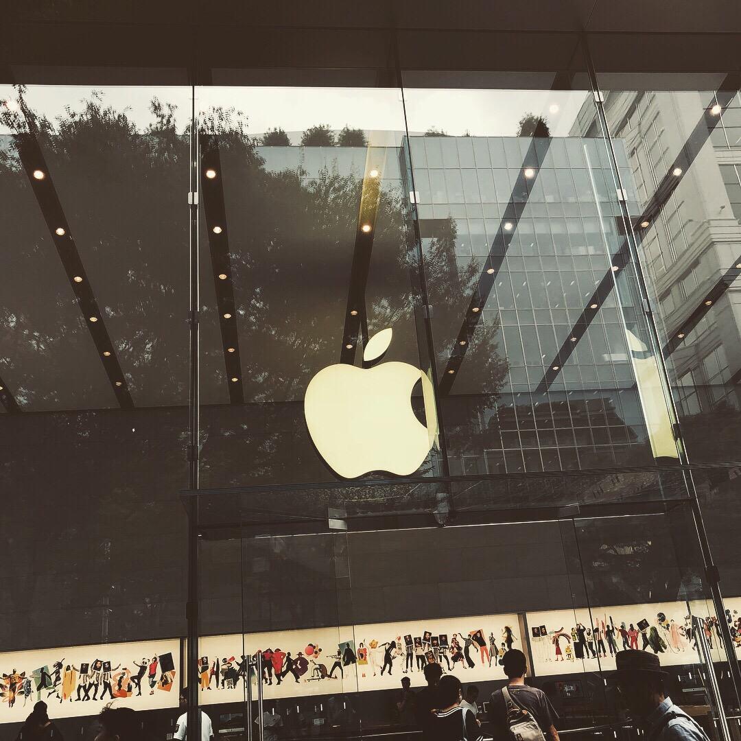 Apple表参道店 フィルターを付けてもらい情報収集!