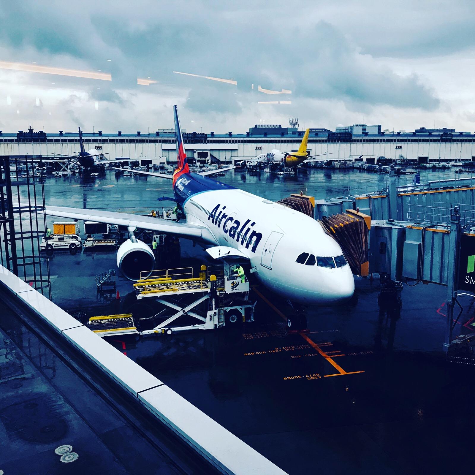 エアカラン ニューカレドニアへの航空会社 快適!