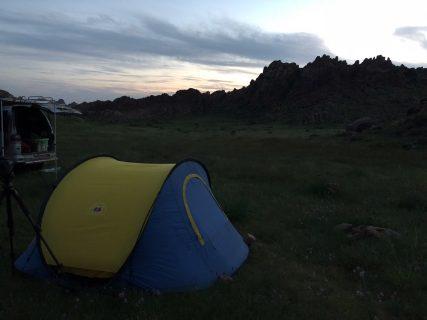 2018 夏の思い出 モンゴル編 その4 岩山で野生のヒツジとヤギを探す!