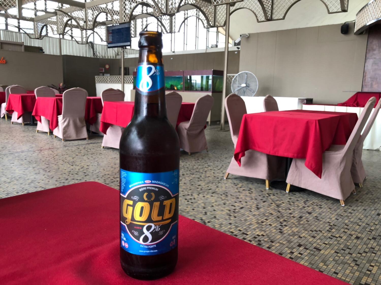 マダガスカルのビール THBが主流ですが、GOLDが美味!