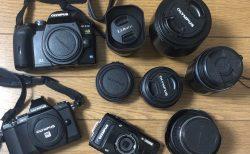 中古カメラのネット査定 「カメラのキタムラ」利用 オリンパスのカメラボディとレンズ10点してみたら