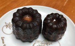 シェリュイのカヌレ サイズ大小の食べ比べ