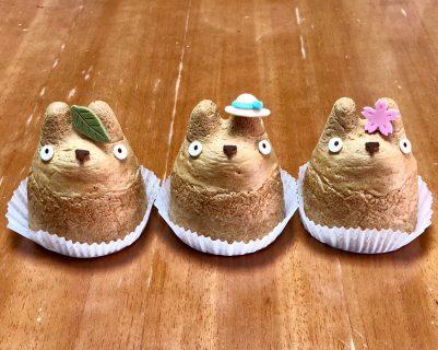 トトロのシュークリーム 白鬚 シュークリーム工房  Totoro's sweets
