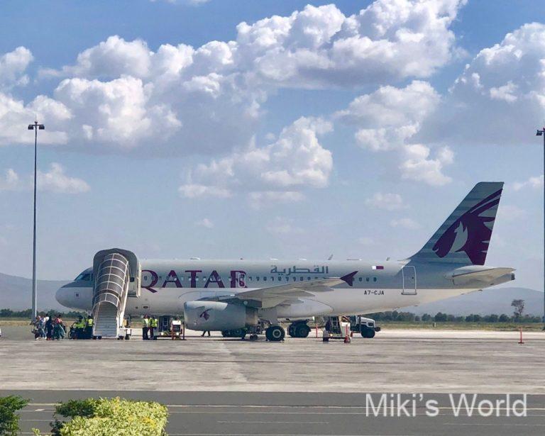 カタール航空(Qatar Airways) QR807搭乗 新しいサービス  機内 Free Wi-Fi体験
