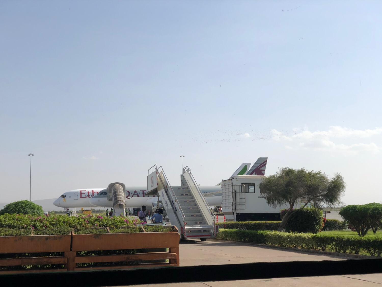 タンザニア キリマンジャロ空港 カタール航空チェックインの注意点