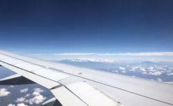 キリマンジャロ山 飛行機から見るのが一番確実⁈