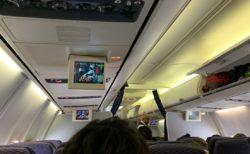 海外で機内で頭上にあげた荷物は、フタが閉まるまで自分で見ておこう 自分の荷物を守るため