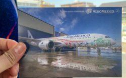 アエロメヒコ航空機内でステキな出会い 機内通訳士さん