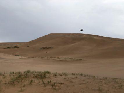 モンゴル 南ゴビ 砂丘 初ドローン撮影の感想と気づき